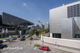 Адрес завода БМВ в Мюнхене
