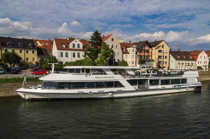 Регенсбург Вальхалла корабль по Дунаю