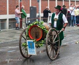 Фестиваль пива Октоберфест Мюнхен