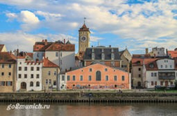 Город Регенсбург в Германии и его достопримечательности