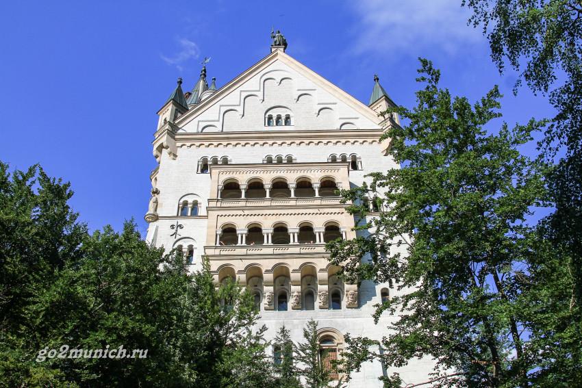 Нойшванштайн замок под Мюнхеном