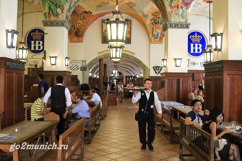 Хофбройхаус в Мюнхене где находится
