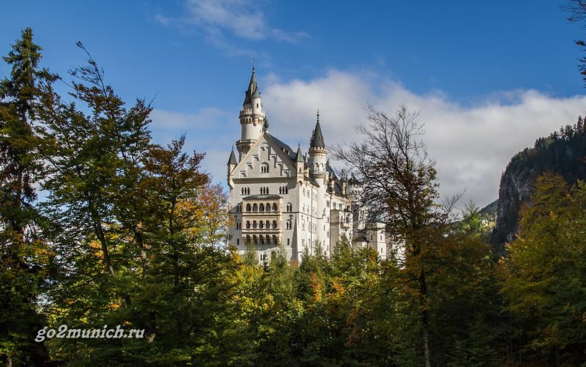 Замок Нойшванштайн Бавария