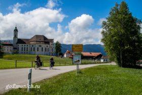 Церковь Визкирхе в Баварии