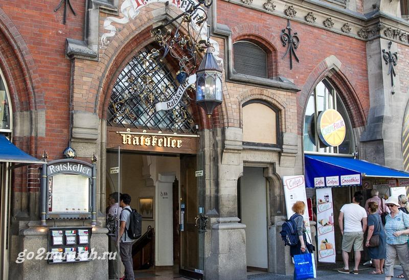 Где поесть в Мюнхене - ресторан Ratskeller