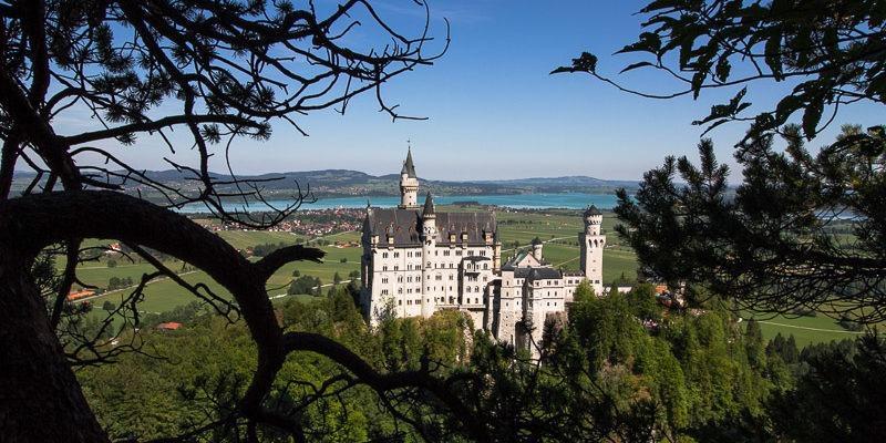 Нойшванштайн - замок под Мюнхеном