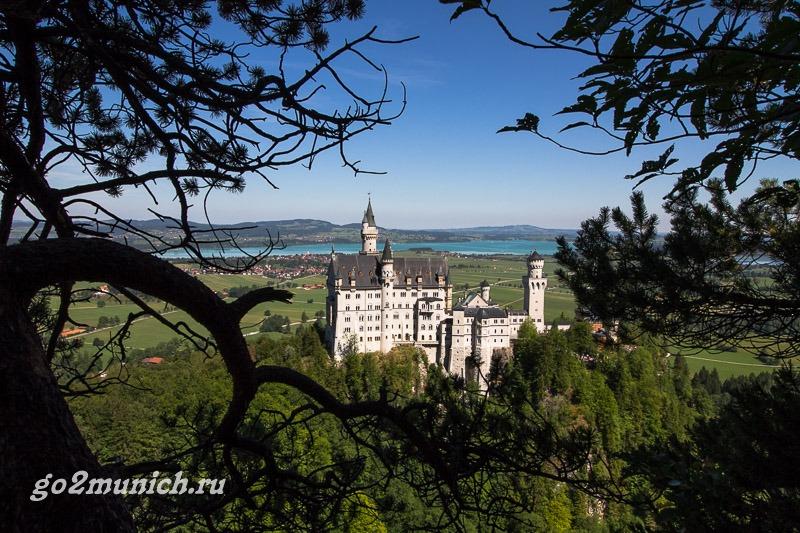 Экскурсии из Мюнхена на русском языке в Нойшванштайн