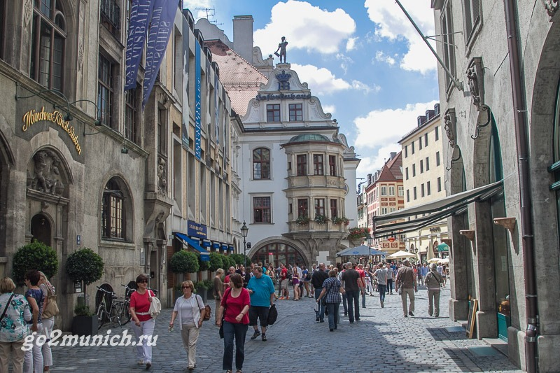 Хофбройхаус в Мюнхене время и часы работы