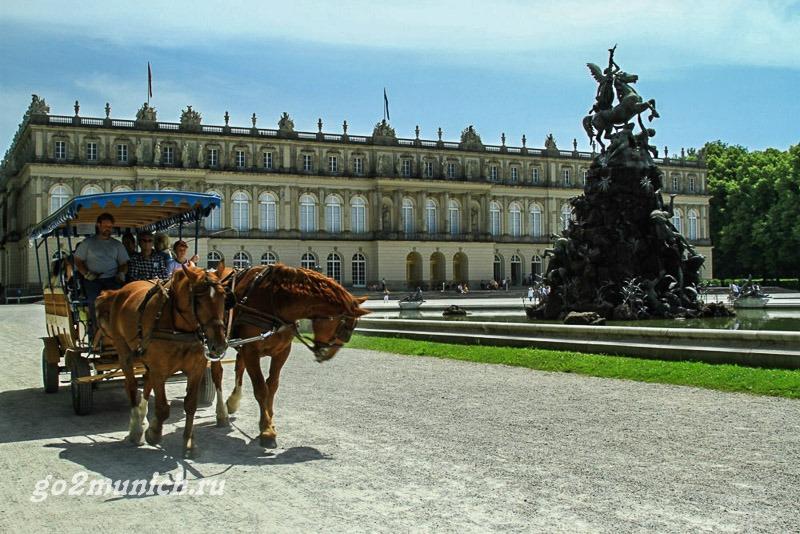 Дворец Херренкимзее как добраться из Мюнхена