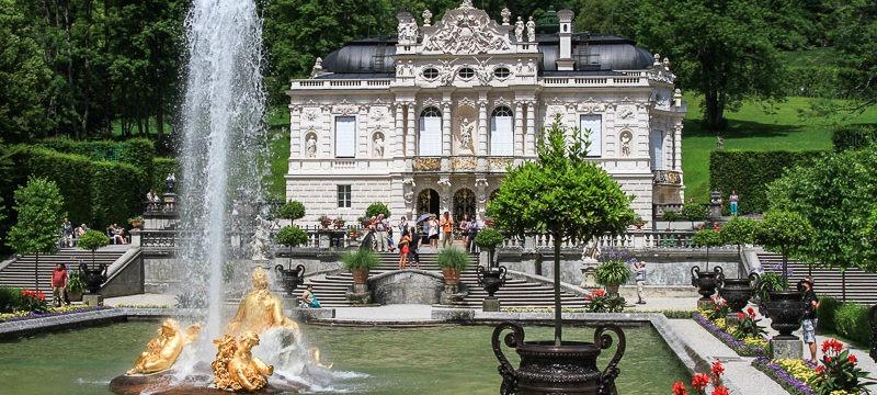 Замок Линдерхоф в Баварии