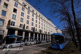 "Отель ""Bayerischer Hof"" Мюнхен"
