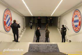 "Стадион ФК ""Бавария"" Allianz Arena в Мюнхене"