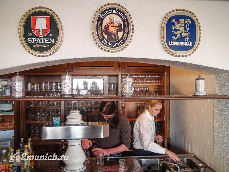 Пиво из Мюнхена Шпатен светлое