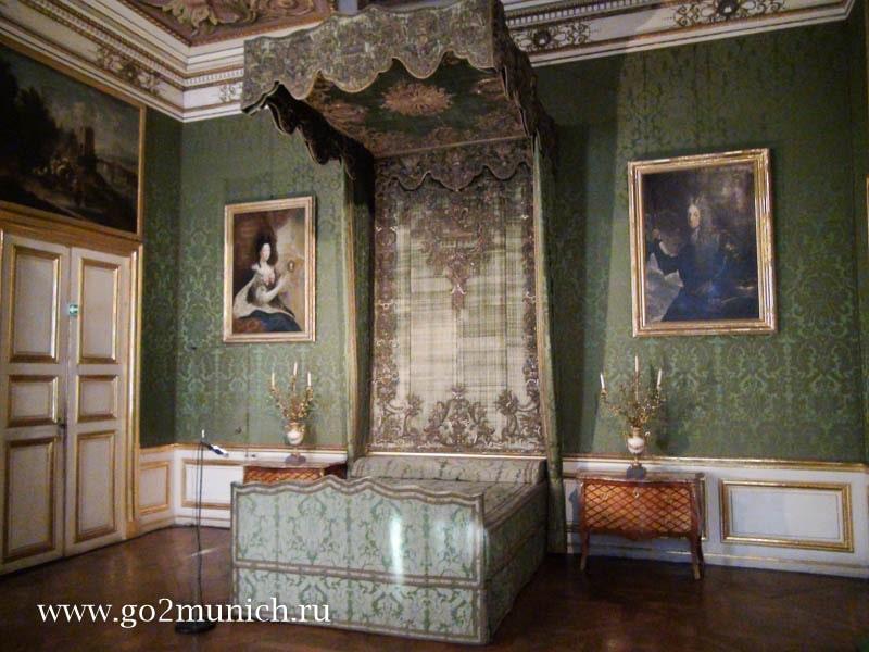Дворец Нимфенбург интерьеры дворца