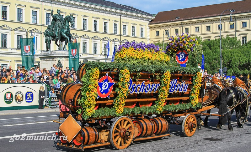 Октоберфест 2017 в Мюнхене