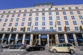 Отели Мюнхена 5 звезд Bayerischer Hof