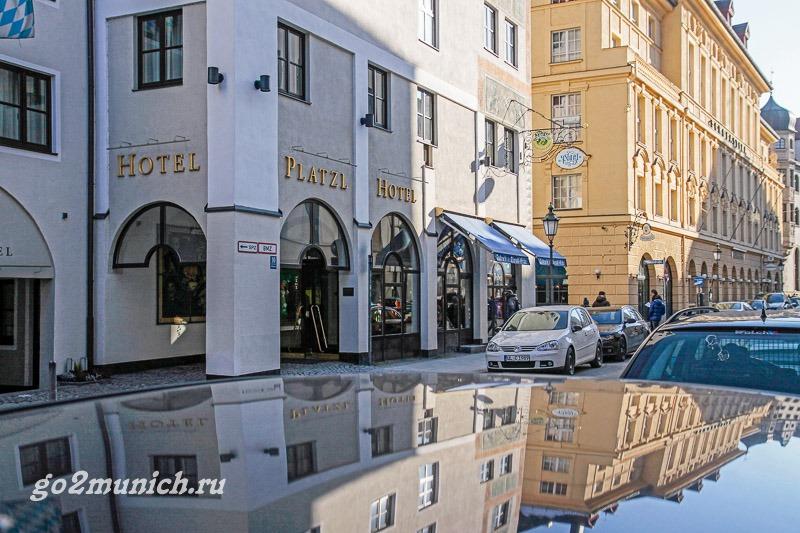 """Отель 4 звезд """"Плацль"""" Мюнхен"""