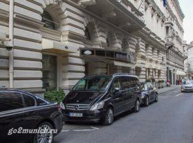 Мюнхен отель Mandarin 5 звезд
