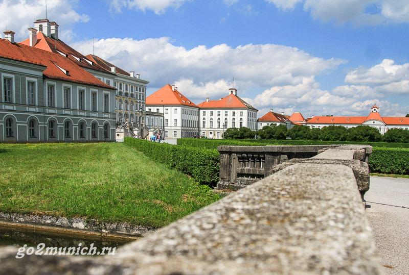Что посмтреть в феврале в Мюнхене - дворец Нимфенбург