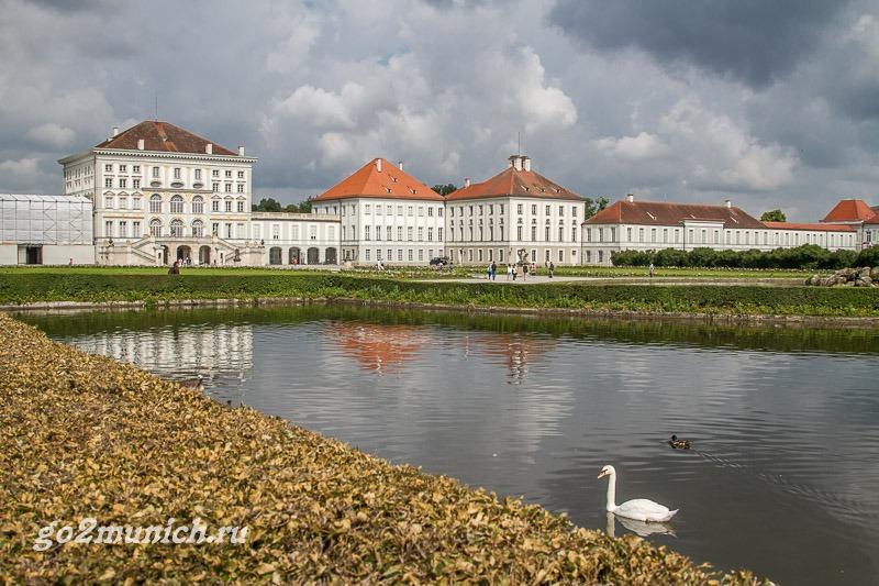Дворец Нимфенбург в Мюнхене что посмотреть