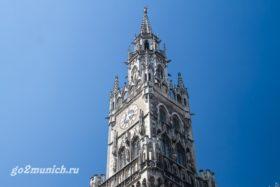 Новая Ратуша в Мюнхене фото