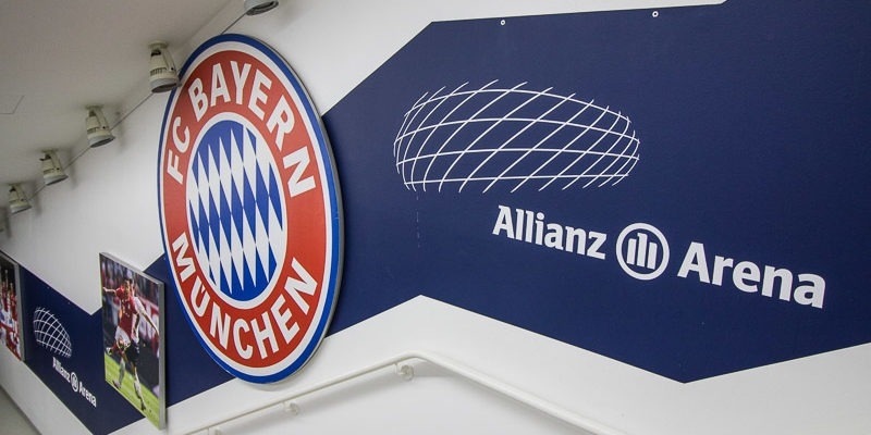 Стадион Альянц Арена в Мюнхене