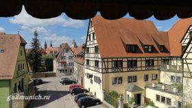 Ротенбург на Таубере Германия фото