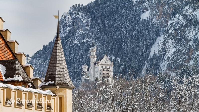 Замок Нойшванштайн зимой отзывы