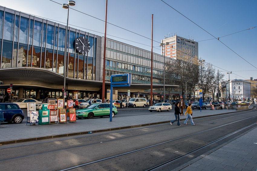 Главный железнодорожный вокзал Мюнхена