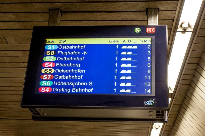 Расписание поездов Мюнхен жд вокзал