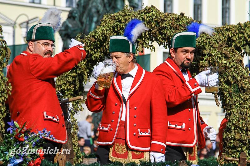 Бондари танец в Мюнхене