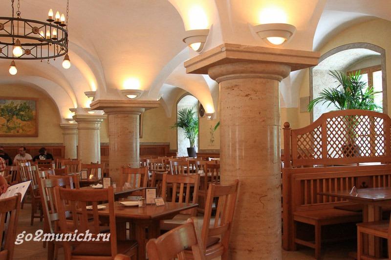 Монастырь Вельтенбург ресторан