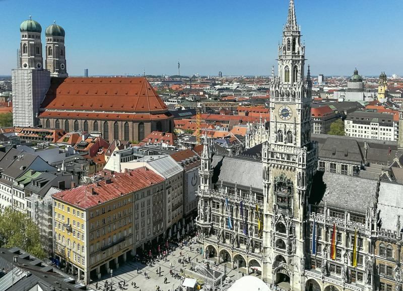 Мариенплац Мюнхен - главная площадь города