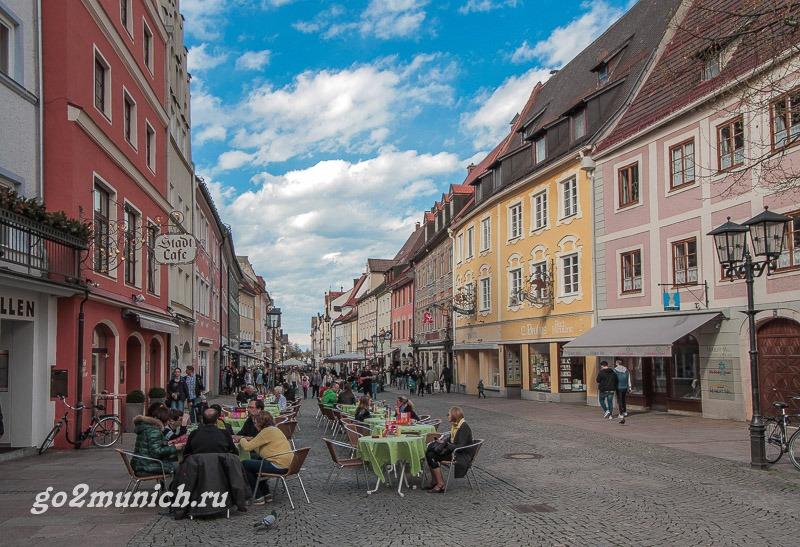 Город Фюссен Германия