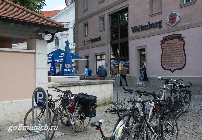 Вельтенбург монастырь Германия