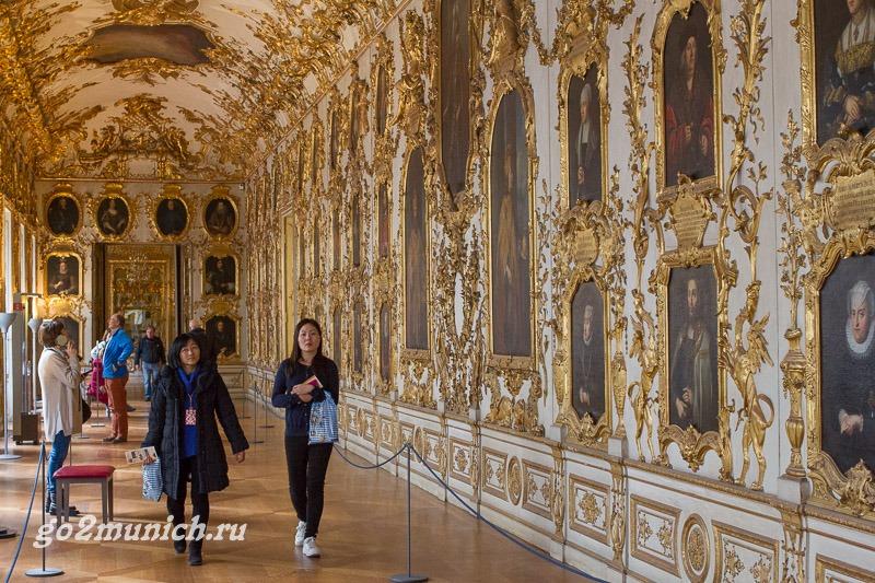 Музей Мюнхен Резиденция королей
