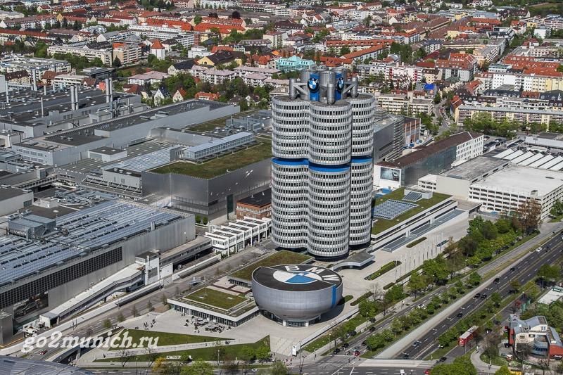 Музей и завод БМВ в Мюнхене сайт