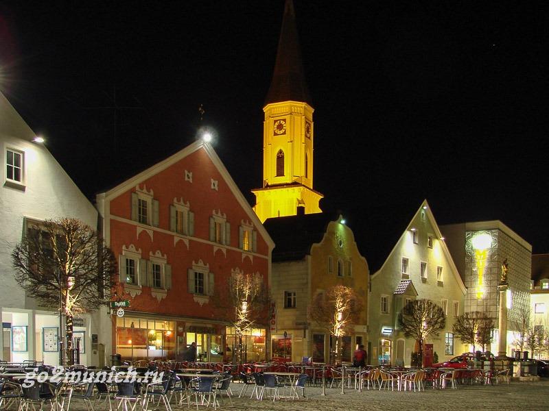 Город Kelheim в Германии