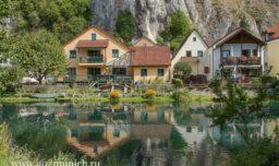 Деревня Эссинг в Баварии