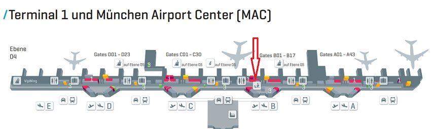 Такс Фри Мюнхен аэропорт терминал 1