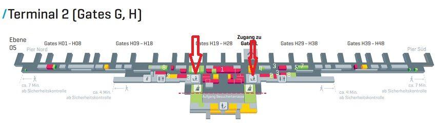 Такс Фри Мюнхен аэропорт терминал 2