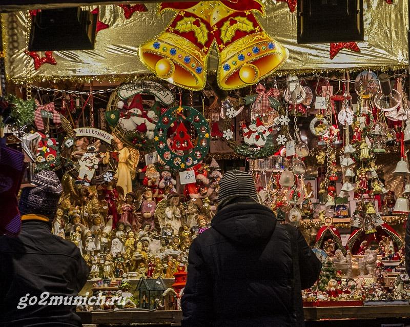 Когда начинают украшать Мюнхен к Рождеству