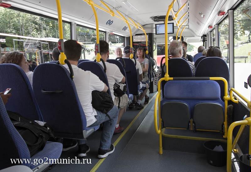 Фюссен - Обераммергау - Линдерхоф автобус