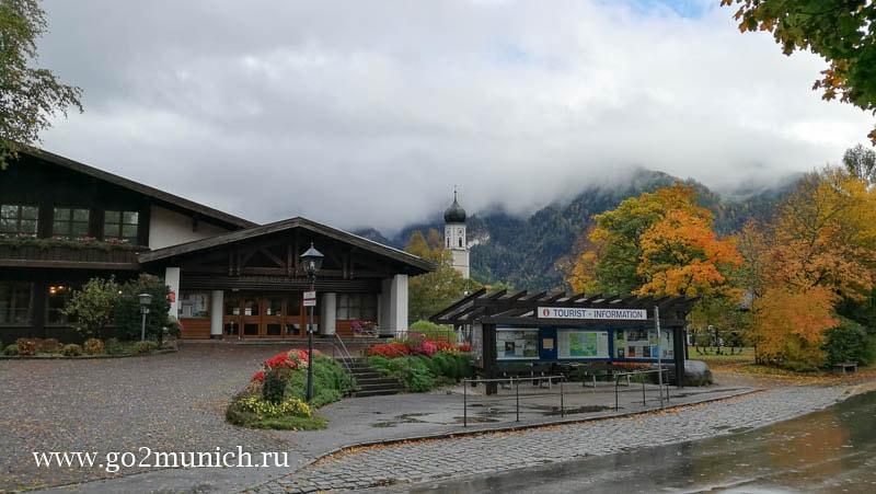 Деревня Обераммергау Германия достопримечательности