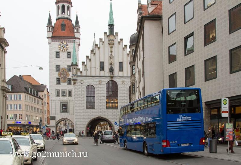Автобус Hop on Hop off Мюнхен экскурсия
