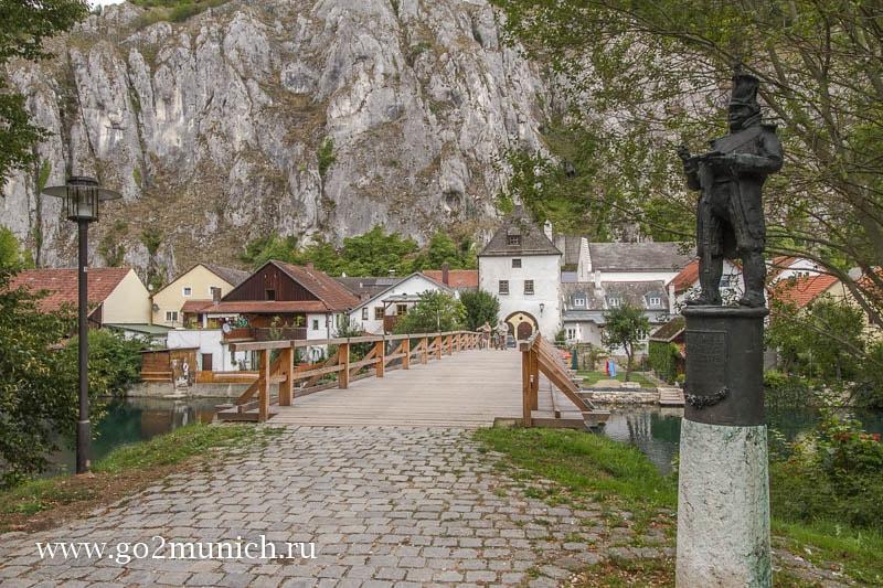 Деревня Эссинг Бавария