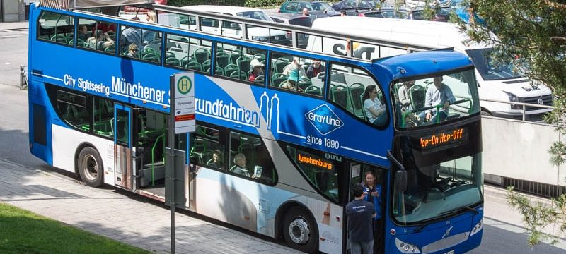 Мюнхен автобус hop on hop off