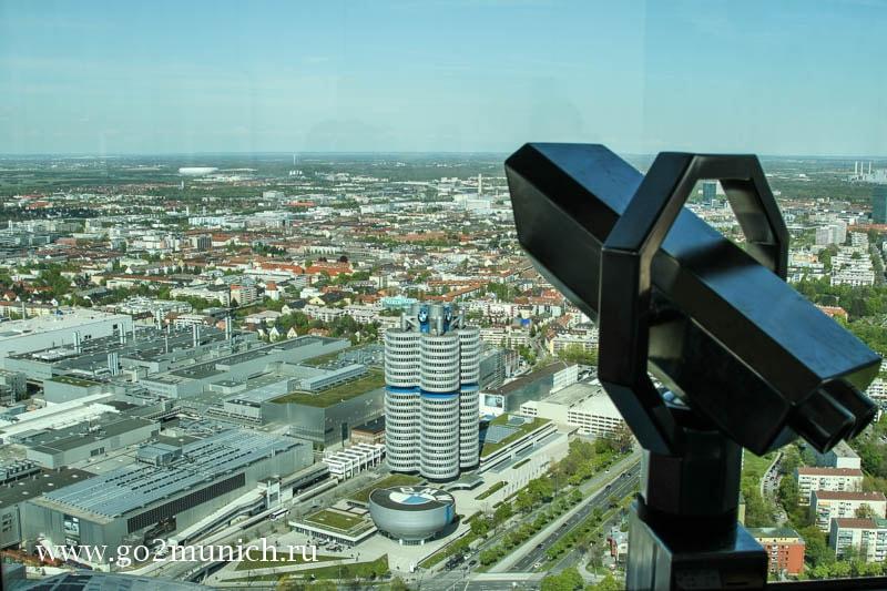 Смотровые площадки Мюнхена