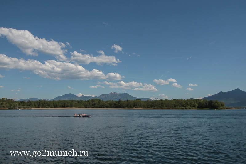 Кимзе озеро в Баварии отдых