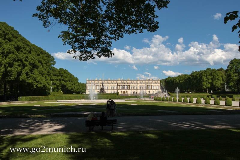 Херренкимзее замок фото